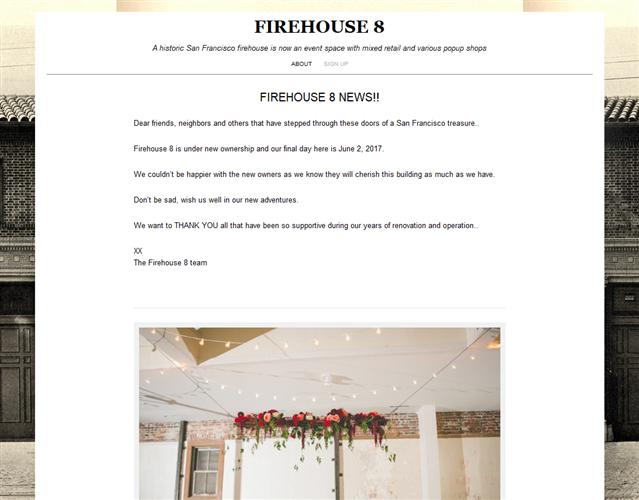 Firehouse 8 wedding vendor photo