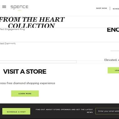 Spence Diamonds wedding vendor preview