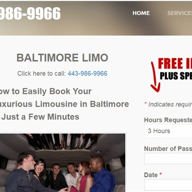 Baltimore Limo  wedding vendor preview