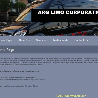 ARG Limo wedding vendor preview