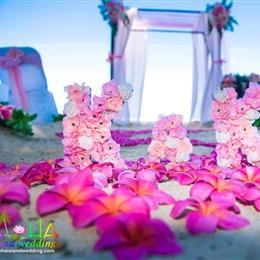 Photo of Hawaii beach Weddings - AIW Test, a wedding Photographers in honolulu