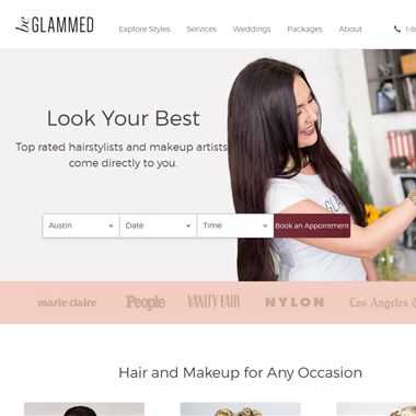 Be Glammed wedding vendor preview