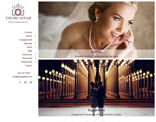 The Big Affair Photography wedding vendor photo
