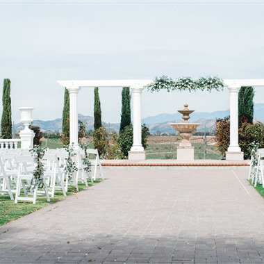 Mount Palomar Winery wedding vendor preview