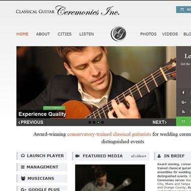 Classical Guitar Ceremonies wedding vendor preview