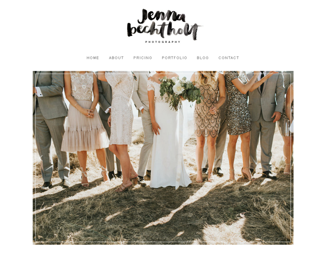 Jenna Bechtholt wedding vendor photo