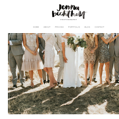 Jenna Bechtholt wedding vendor preview
