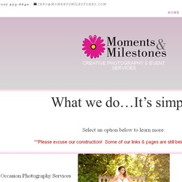 Photo of Moments & Milestones Photography & Event Planning Test, a wedding Photographers in San Antonio