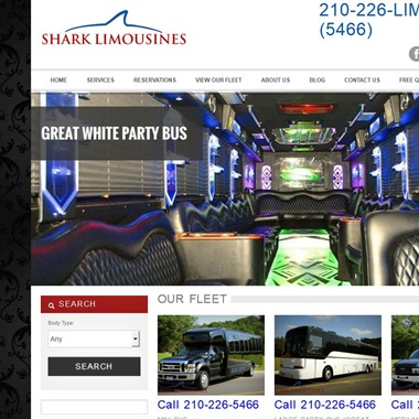 Shark Limousines wedding vendor preview