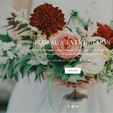 Gypsy Floral and Events wedding vendor preview