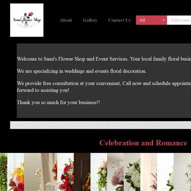 Sami's Flower Shop wedding vendor preview