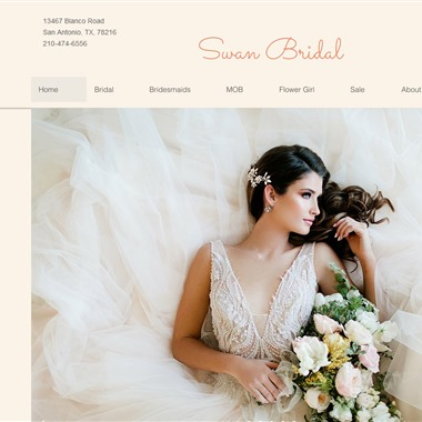 Swan Bridal wedding vendor preview