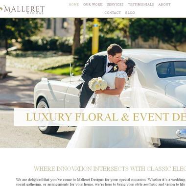 Malleret Designs wedding vendor preview