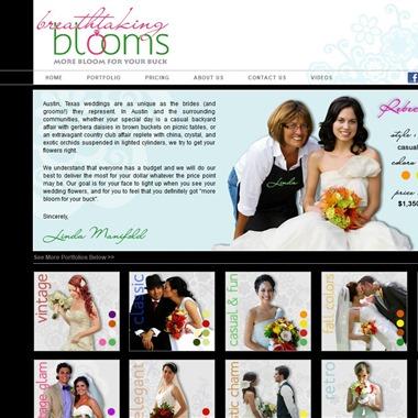 Breathtaking Blooms wedding vendor preview