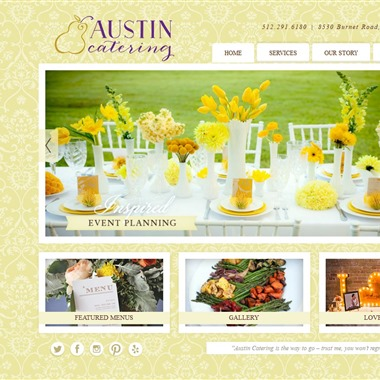 Austin Catering wedding vendor preview