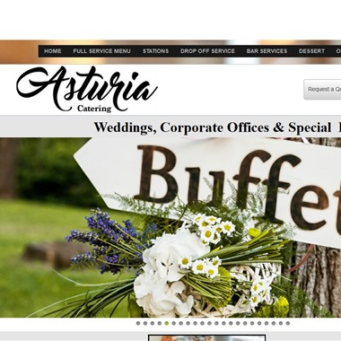 Asturia Catering wedding vendor preview