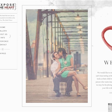 Expose the Heart wedding vendor preview