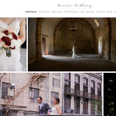 Marvin Anthony Wedding Photography wedding vendor preview