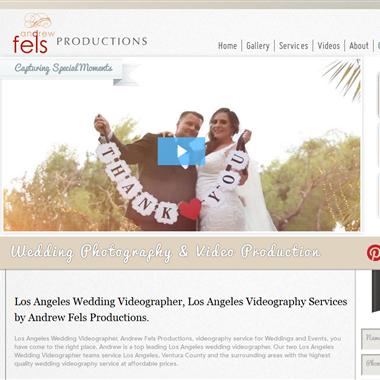 Andrew Fels Productions wedding vendor preview