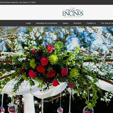 Los Encinos Hill Country Estate wedding vendor preview