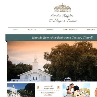 Garden Heights Weddings and Events wedding vendor preview