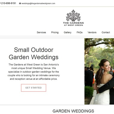 The Gardens At West Green wedding vendor preview