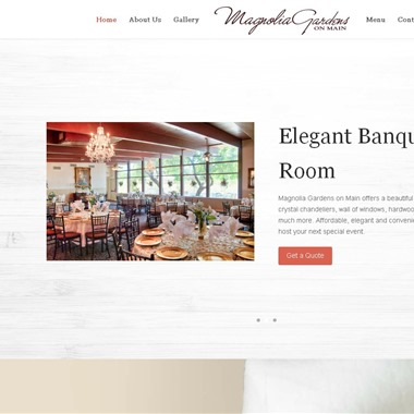 Magnolia Gardens on Main wedding vendor preview