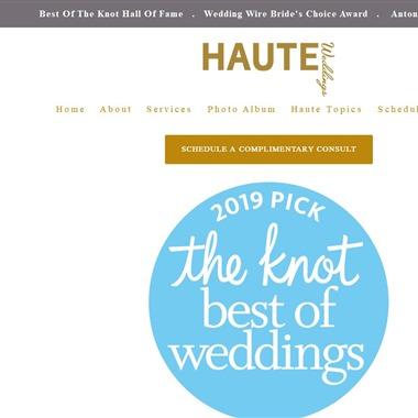 Haute Weddings wedding vendor preview