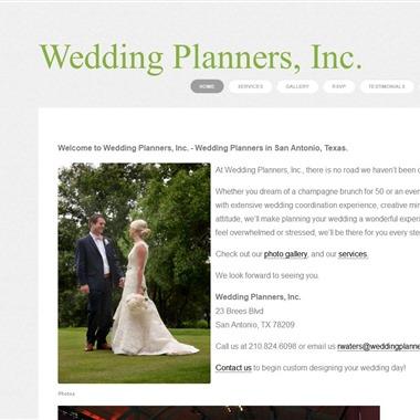 Wedding Planners Inc wedding vendor preview