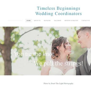Timeless Beginnings Wedding Coordinators wedding vendor preview