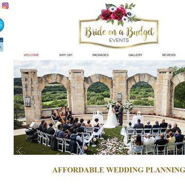 Bride on a Budget Events wedding vendor preview