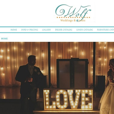 Wolf Weddings & Events wedding vendor preview