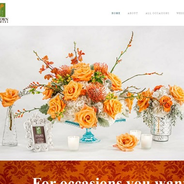 Uptown Flowers wedding vendor preview