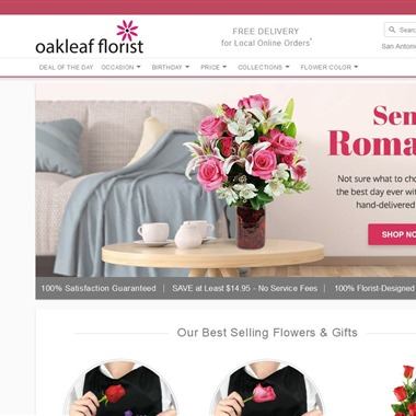 Oakleaf Florist wedding vendor preview