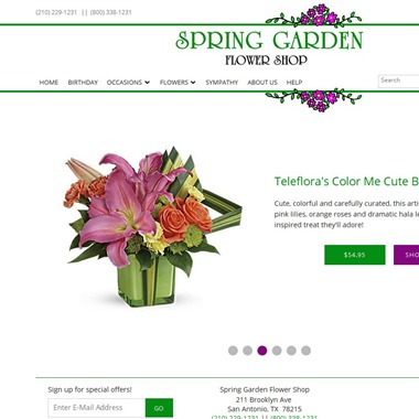 Spring Garden Flower Shop wedding vendor preview