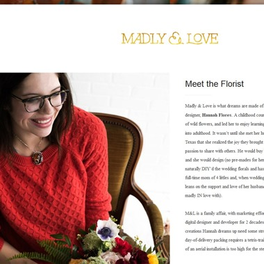 Madly & Love Blooms wedding vendor preview