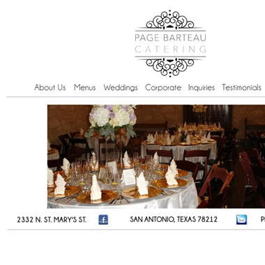 Page Barteau Catering wedding vendor preview