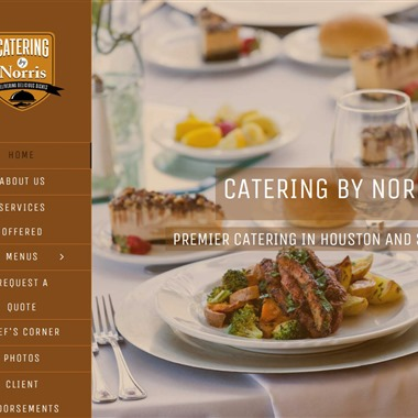 Catering by Norris wedding vendor preview