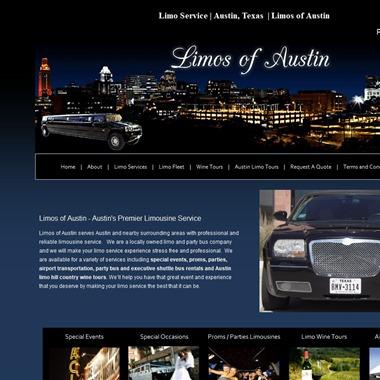 Limos of Austin wedding vendor preview