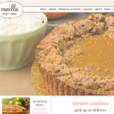 Vanilla Bake Shop wedding vendor preview