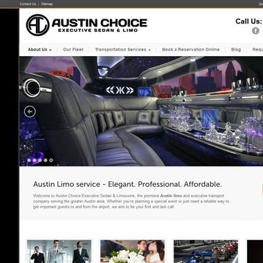 Austin Choice Executive Sedan & Limo wedding vendor preview