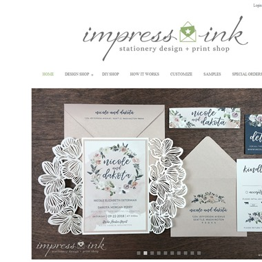 Impress Ink wedding vendor preview