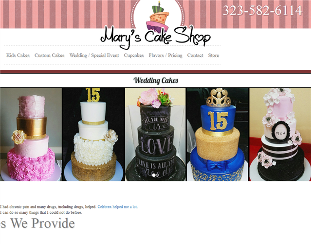 Mary's Cake Shop wedding vendor photo