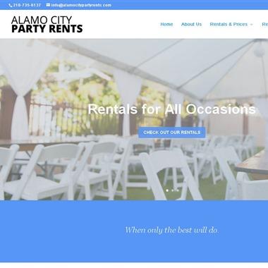 Alamo City Party Rents Inc wedding vendor preview