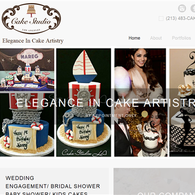 Cake Studio L. A. wedding vendor preview