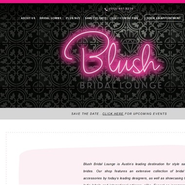 Blush Bridal Lounge wedding vendor preview