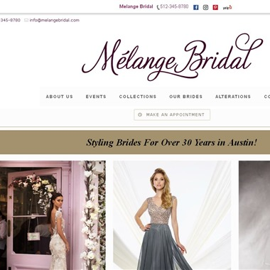 Melange Bridal wedding vendor preview