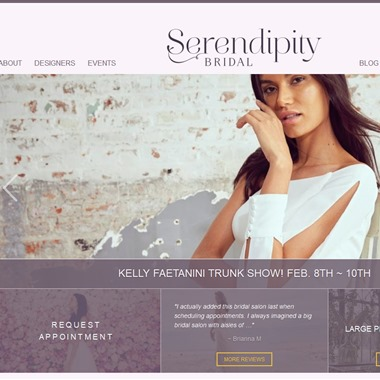 Serendipity Bridal wedding vendor preview