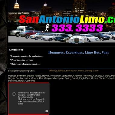 San Antonio Limo wedding vendor preview