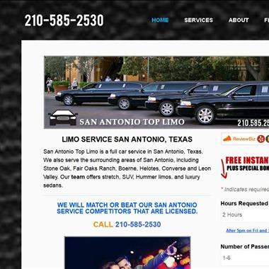 San Antonio Top Limo wedding vendor preview